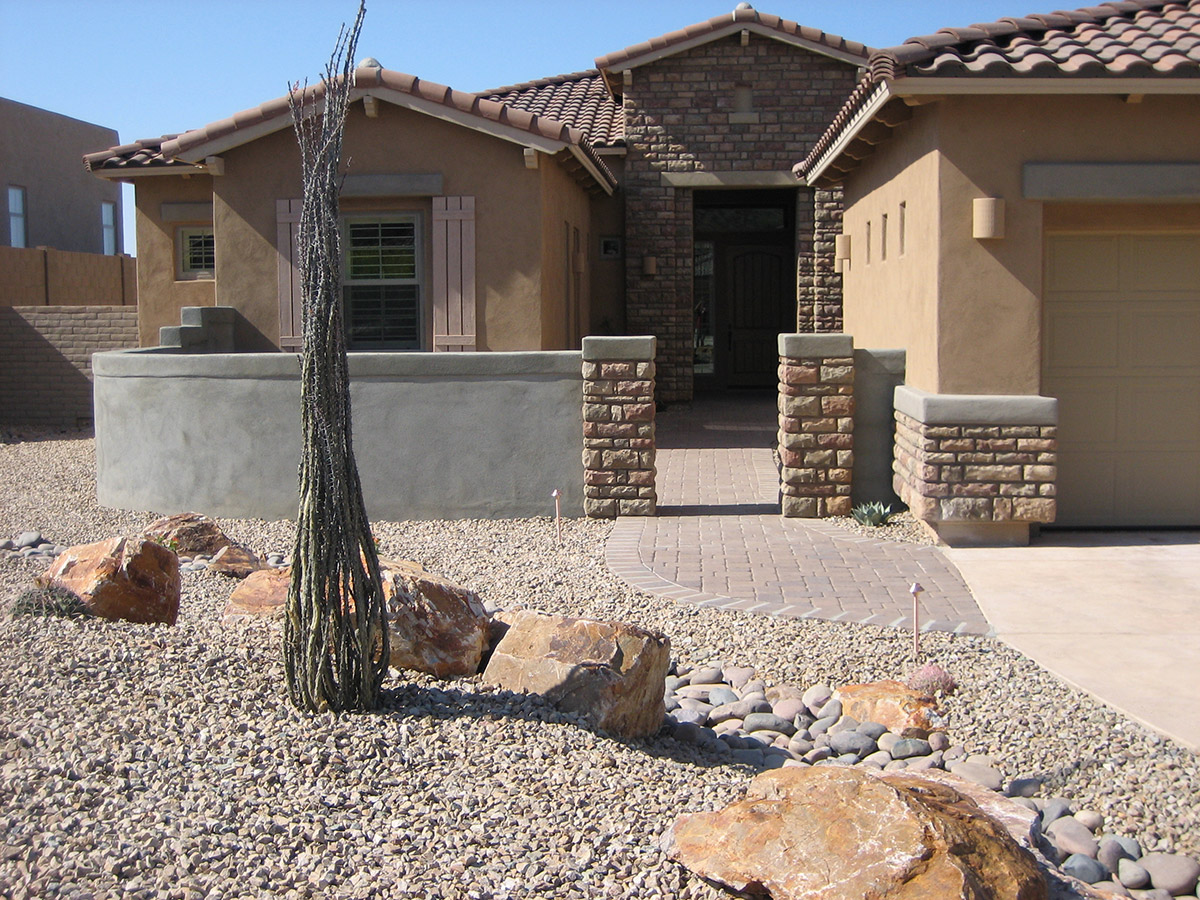 Landscaping jobs in tucson tucson landscaping by terra for Landscape design tucson